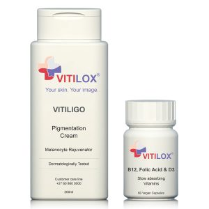 Vitilox® Pigmentation Cream & Vitamins B12, Folic Acid, D3